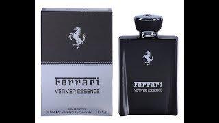 Review Ferrari Vetiver Essence