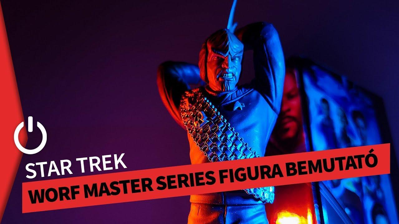 Worf - Qmx Master Series Latinum Edition Figura bemutató | UNBOXING
