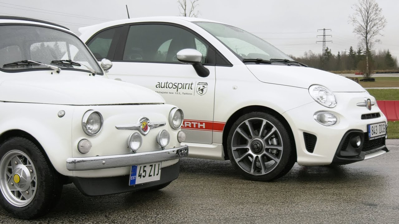 Abarth vs. Abarth 595 Turismo - auto24.ee proovisõit
