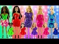 How to make glitter toy play doh dresses | Aurora Elsa Rapunzel | New design