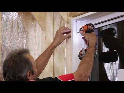 How to Install an Aluminium Sliding Window into Brick Veneer Construction