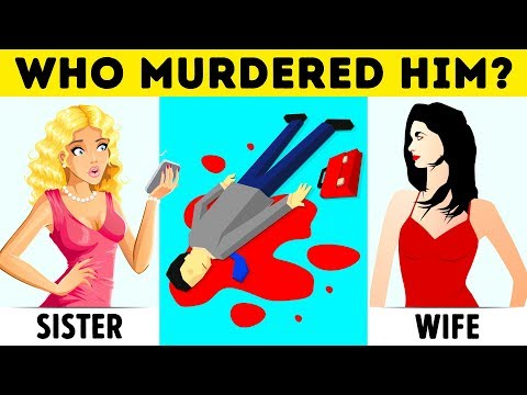 12 Crime Riddles And Mystery Puzzles You'll Never Solve