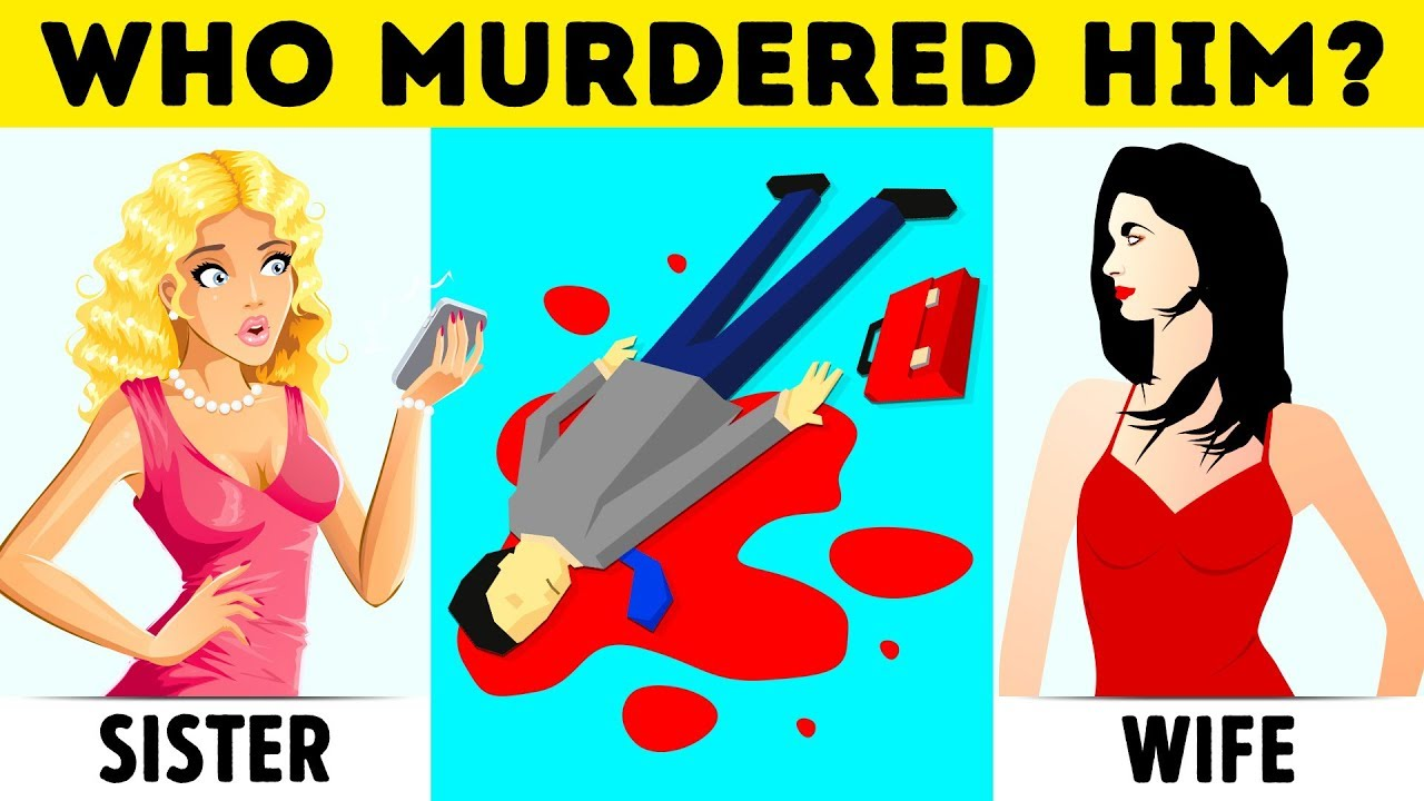 12 Crime Riddles And Mystery Puzzles You\'ll Never Solve - YouTube