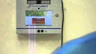 Desktop Alert Emergency Display Unit Activation
