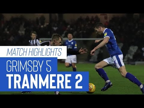 Match Highlights | Grimsby Town v Tranmere Rovers - Sky Bet League Two