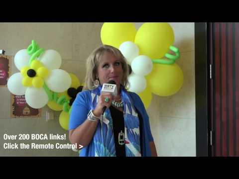 Office Depot Women's Symposium on WeBocaTV- Behind The Scenes