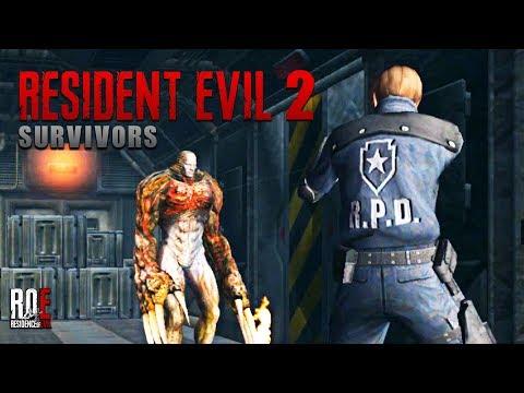 RESIDENT EVIL 2: SURVIVORS   RE2: FAN REMAKE   First Impressions