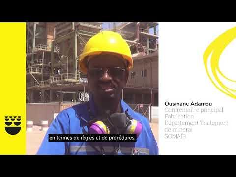 Formations Sécurité à SOMAIR. Temoignage de Ousmane Adamou, contremaître principal