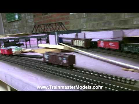 HO Layout Build Pt 15 @ Trainmaster Models