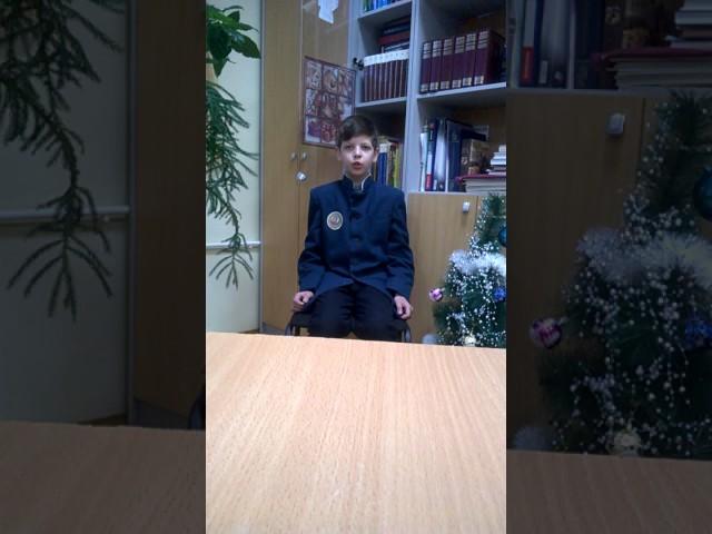 Изображение предпросмотра прочтения – АртемБураков читает произведение «Кинжал» М.Ю.Лермонтова