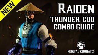 Download Video Mortal Kombat X: RAIDEN (Thunder God) Combo Guide MP3 3GP MP4