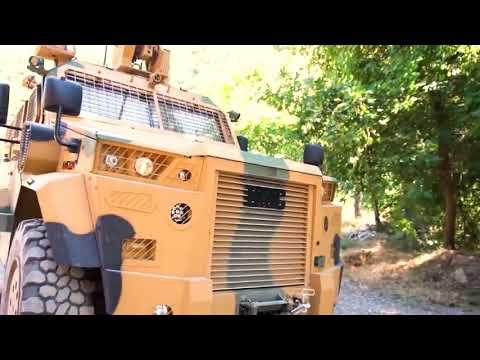 مدرعة تركية جديدة بتجهيزات متطورة ( أحباء الجيش التونسي)