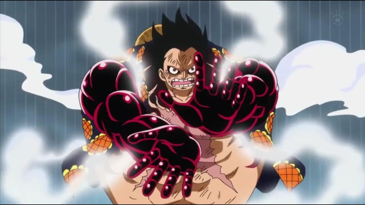 Luffy vs Doflamingo Gomu Gomu No Leo Bazooka VOSTFR - YouTube