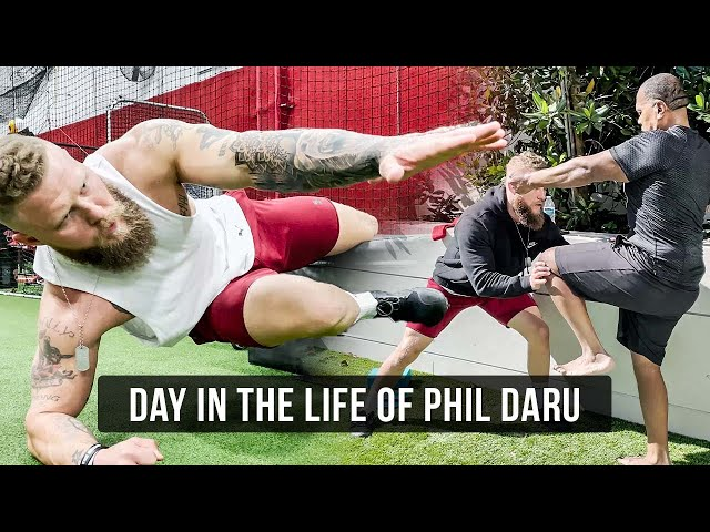 Core & Conditioning for MMA | A Day in the Life of Phil Daru