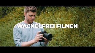 Wackelfrei filmen ohne Stativ! - Tutorial