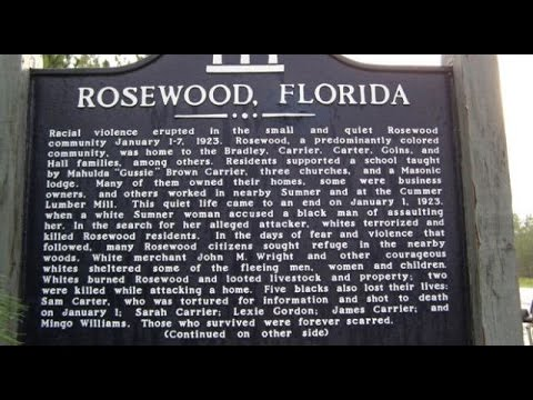 Some Wise Words From The Survivors Of The Rosewood Massacre