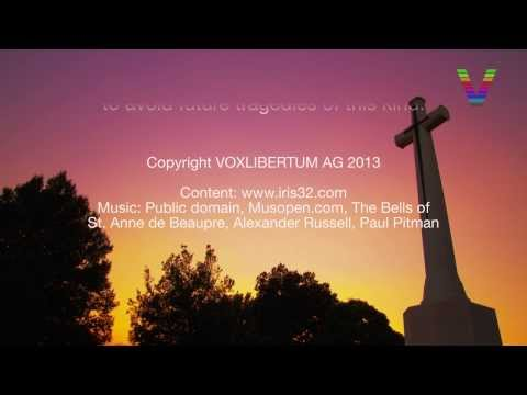 Ultra HD 4K The SANGRO RIVER WAR CEMETERY in Italy