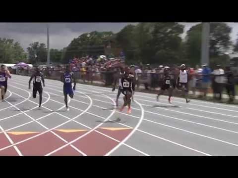 Justin Walker's 9.95 100m dash