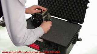 HPRC Cases - Tutorial Using The High Density Pick and Pluck Cube foam