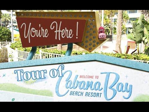 Cabana Bay Beach Resort Tour - Universal Studios Orlando