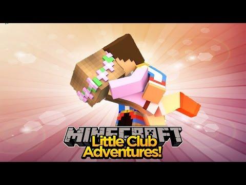 LITTLE KELLY & LITTLE DONNY FALLING IN LOVE AGAIN!!! - Minecraft Little Club Adventures