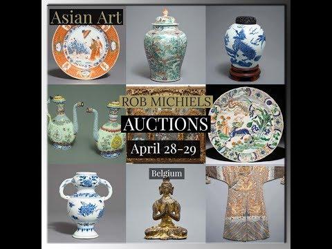 Rob Michiels Auction of Asian Art April 28-29th, Belgium, ONLINE