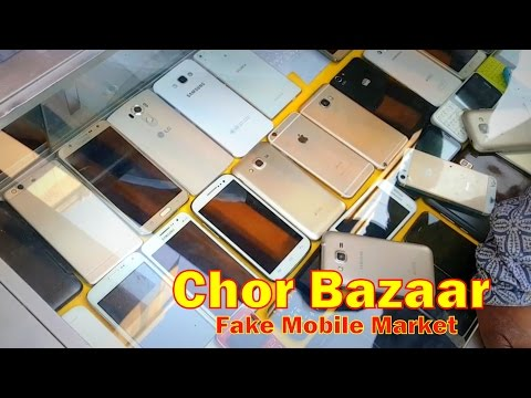 Fake Chor Bazaar in Mumbai | Dont Buy Fake Mobiles & Memory Cards | Kamathipura india