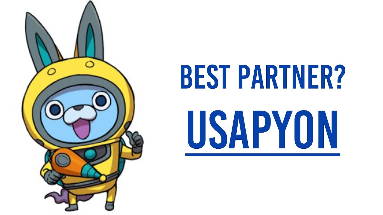 usapyon is the best partner in yokai watch youtube. Black Bedroom Furniture Sets. Home Design Ideas