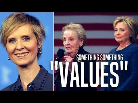 Hillary Clinton Hypocritically Snubs Cynthia Nixon in Favor of Andrew Cuomo