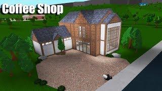 Coffee Shop Speedbuild!! • Roblox: Bloxburg • 101k