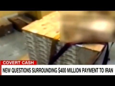 Iranian State TV Releases Video Of Pallets Of Cash! $400 Million Dollars  From The U.S.