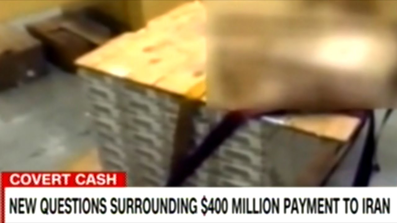 Image result for pallet of cash to iran