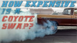 HOW MUCH DOES A COYOTE SWAP COST?