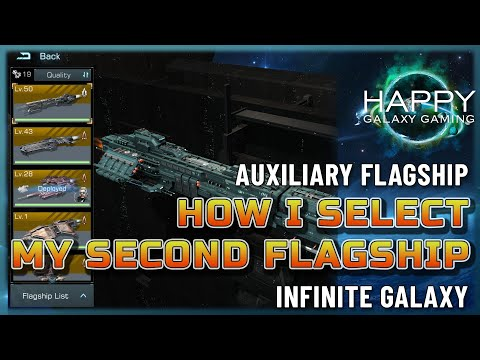 Infinite Galaxy - Auxiliary Flagships - How I choose my Flagship Combinations