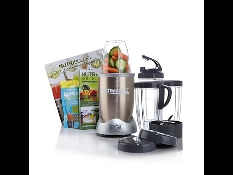 NutriBullet Pro 900 Series with SuperFood and Recipe Book