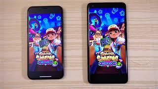 Iphone X vs Google Pixel 2 Xl Speed Test.