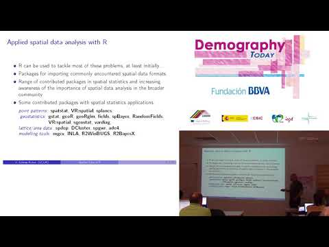 """Lecture: """"Spatial data analysis with R"""" (1/4)"""