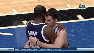 Kevin Love Full Highlights vs Thunder (2014.01.04) - 30 Pts, 14 Reb