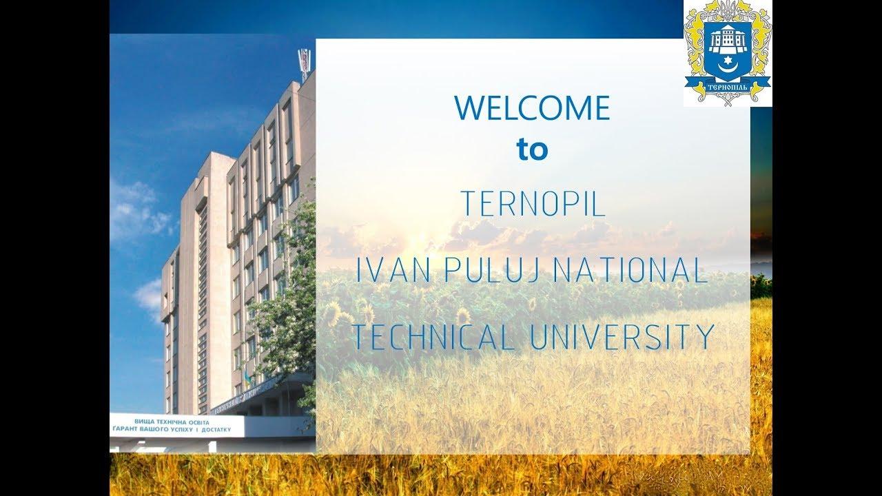 Study in Ukraine. Ternopil Iva...