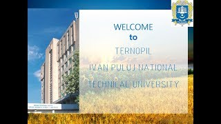 Study in Ukraine. Ternopil Ivan Puluj National Technical University.