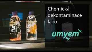 Odstranění poletavé rzi - chemická dekontaminace I UMYEM