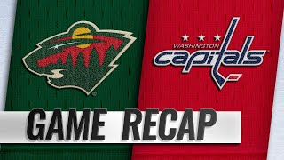 Greenway, Kunin power Wild past Capitals, 2-1
