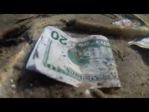 I found $30 in Font Lake - Beaver Island Michigan