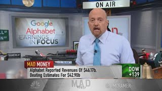 Jim Cramer reacts to Amazon, Alphabet, Apple and Facebook earnings