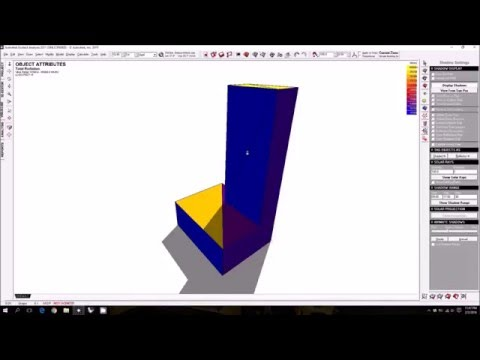 Ecotect Tutorial 7.1 - Incident Solar Radiation Analysis - Introduction