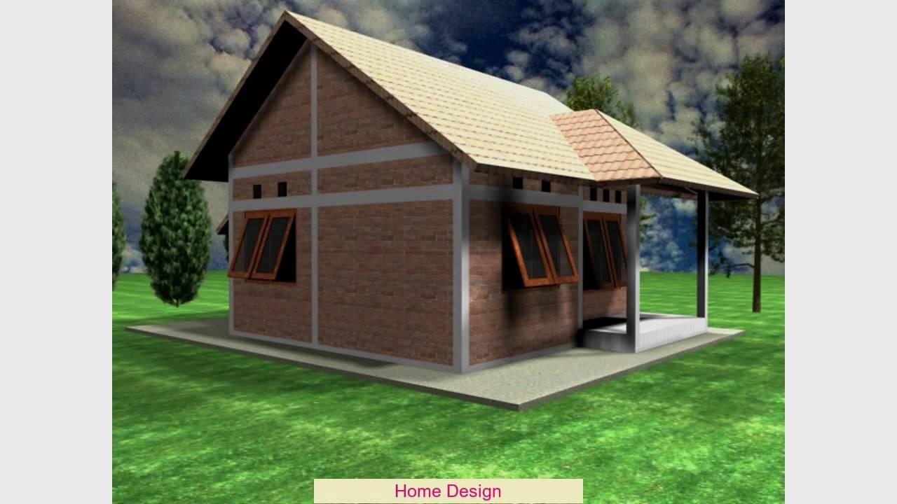 Desain Rumah Bentuk L Youtube