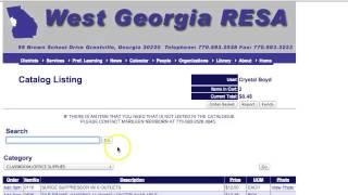 West Georgia RESA Purchasing Feb 2016