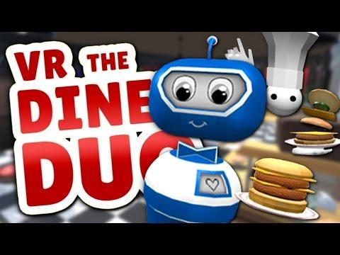 MATT'S BASEMENT BURGERS - VR Diner Duo  