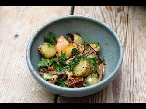 Smoked Salmon, Chorizo Potato Salad Recipe