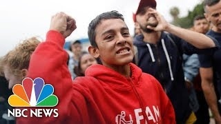 In Search Of Asylum: A Journey On The Migrant Caravan | NBC News